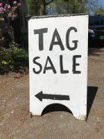 Tag Sale Saturday, May 26th