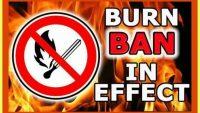 Town Burn Ban