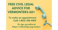 Vermont Legal Aid: FREE Civil Legal Advice Clinic