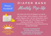 Pop-up Diaper Bank - June 26, 2021